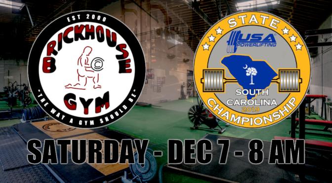 USA Powerlifting 2019 SC State Championship